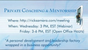webinars and private coaching