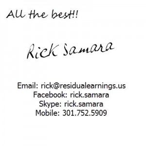 Contact Rick Samara for help